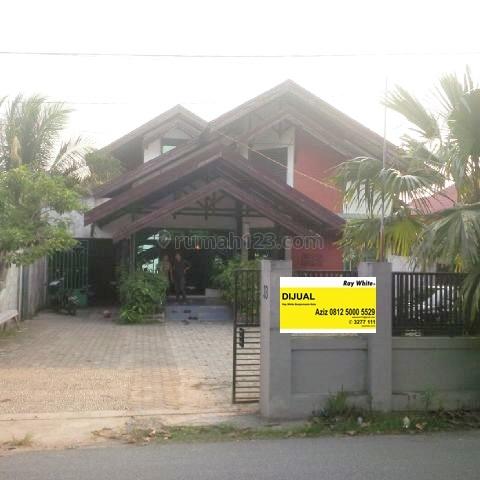 Rumah Pinggir Jalan Komplek DPR Banjarmasin