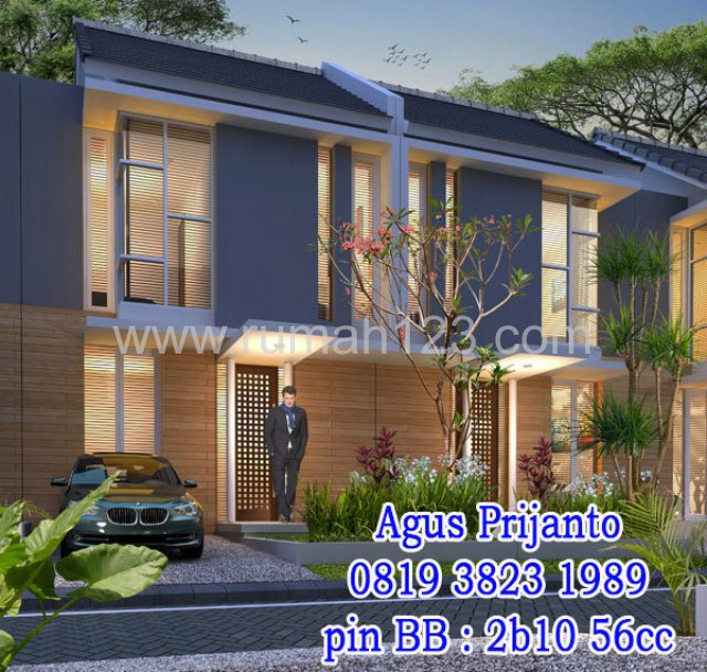 Rumah Modern Minimalis 2 Lantai Di Kota Surabaya