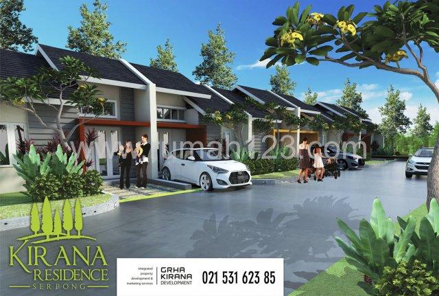 Rumah Cluster Harga Terjangkau Di Serpong Cisauk
