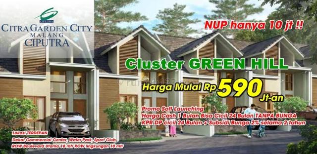 Citra Garden City Malang Oleh Ciputra Harga Pre Launching
